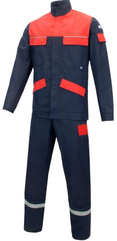 Rensing - Multi-5 320i Pro-R - Anzug front - navy-rot